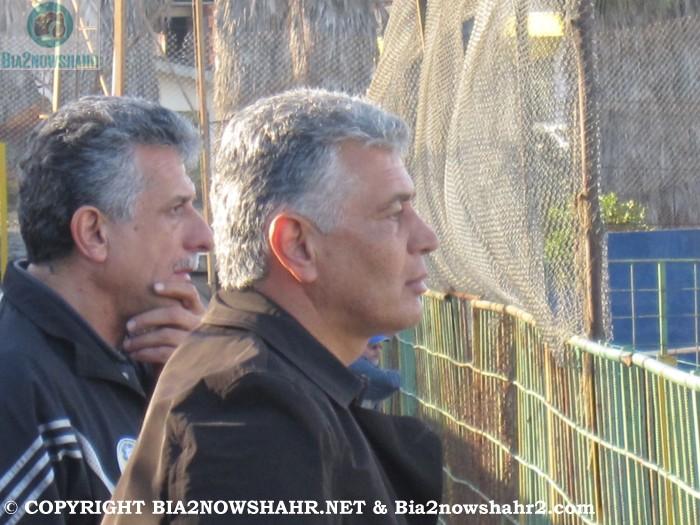 سرمربی تیم شهرداری نوشهر بهاالدین پناهی
